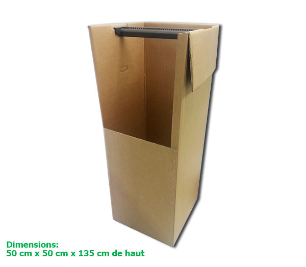 grand carton penderie pour d m nager vos costumes sans les. Black Bedroom Furniture Sets. Home Design Ideas