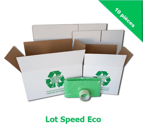 8 cartons de d m nagement avec 1 ruban adh sif et housse matelas eco carton. Black Bedroom Furniture Sets. Home Design Ideas
