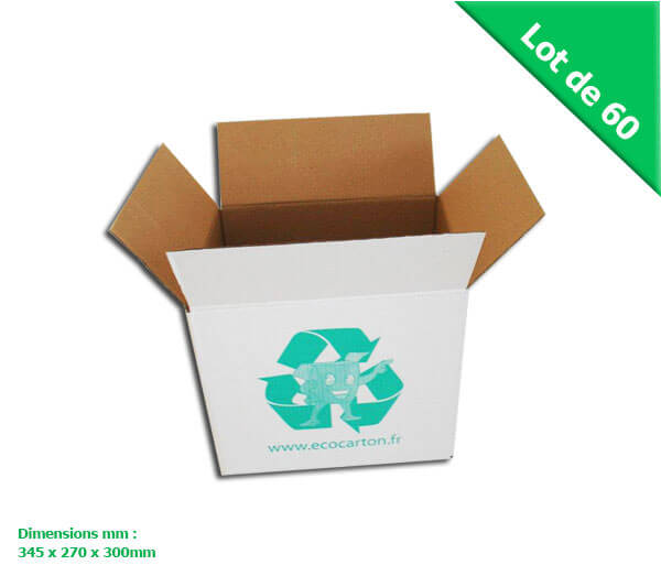 lot de 60 petits cartons livres d m nagement pour d m nager prix discount eco carton. Black Bedroom Furniture Sets. Home Design Ideas