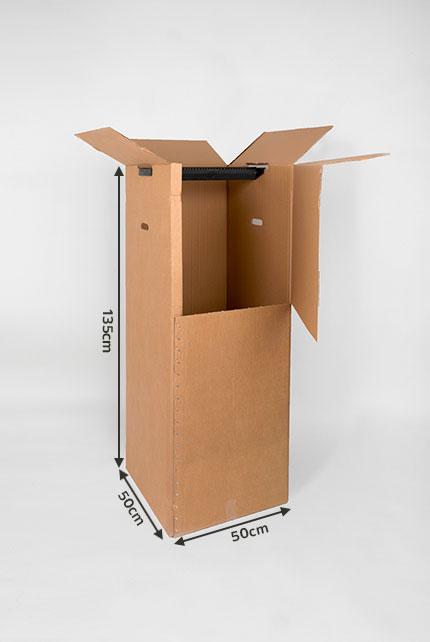 Grand Carton Penderie Pour Demenager Vos Costumes Sans Les Friper Eco Carton