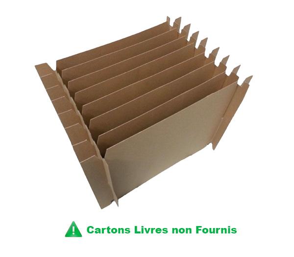 hyper pratique croisillon assiette 9 alv oles prix vraiment discount eco carton. Black Bedroom Furniture Sets. Home Design Ideas