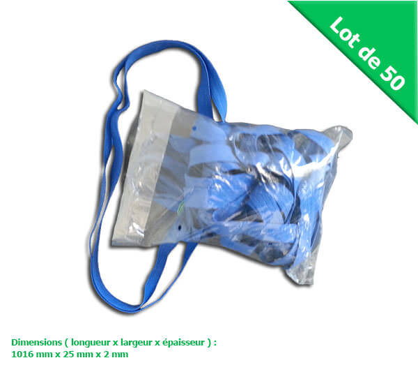 carton de 50 bracelets caoutchouc bleu prix sp cial d m nageur eco carton. Black Bedroom Furniture Sets. Home Design Ideas