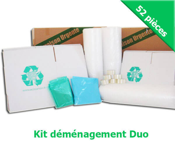 "*KIT DEMENAGEMENT ""DUO"" (PACK MAXI + PACK MINI)"