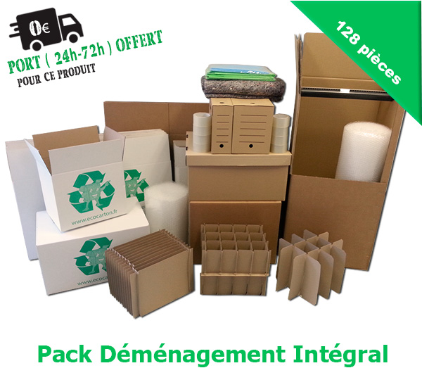 pack d m nagement dot de 128 fournitures pour d m nager pas cher eco carton. Black Bedroom Furniture Sets. Home Design Ideas
