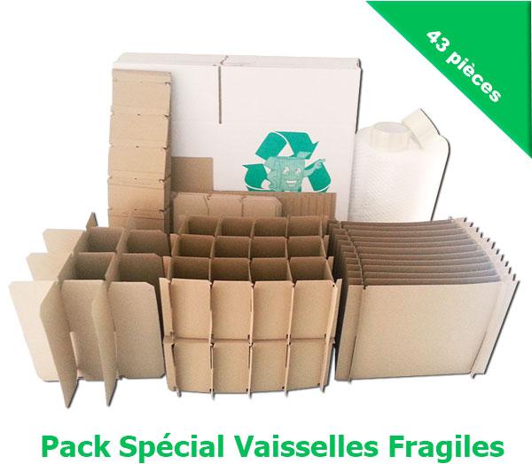 cartons pas cher et croisillons pour d m nager votre vaissellerie eco carton. Black Bedroom Furniture Sets. Home Design Ideas